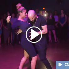 Танец под «Седую ночь». Пара удивила всех. ( Видео)